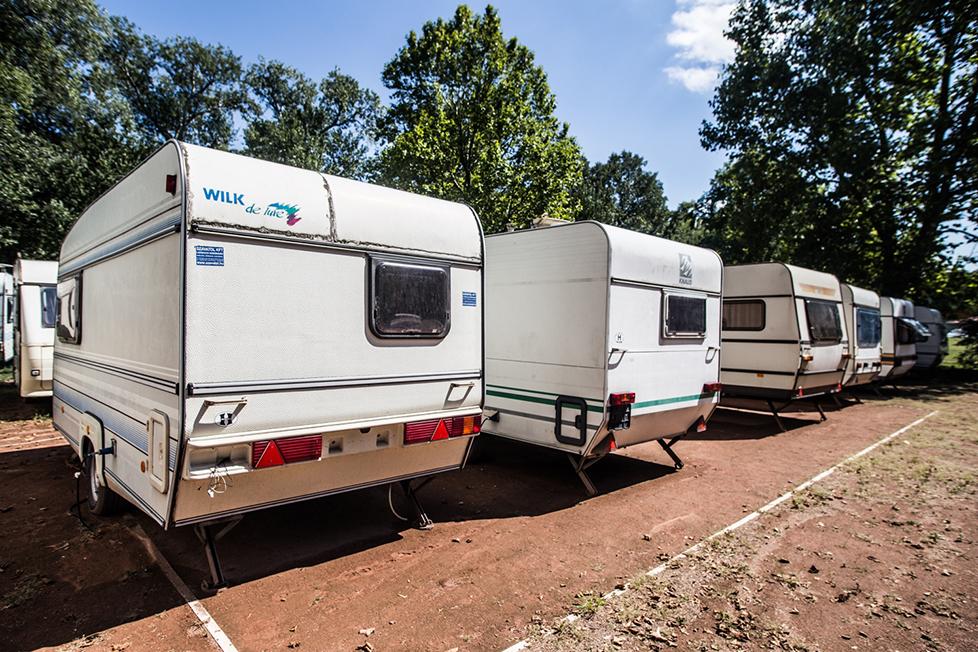 Pre-settled caravan